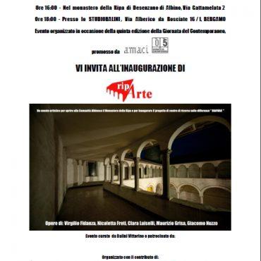 Mostra Riparte – Bergamo | Giornata del contemporaneo